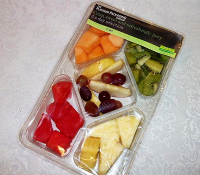 Resealable Lidding Film Example